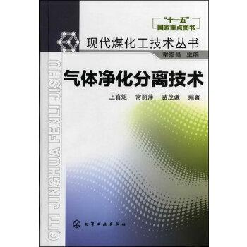 现代煤化工技术丛书--气体净化分离技术