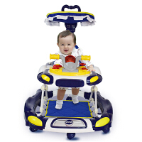 学步车宝宝学行多功能婴儿童可坐手推折叠带音乐