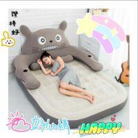 卡通龙猫床气垫床充气床双人家用加大单人床垫加厚户外便携气垫床