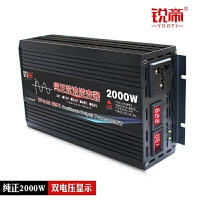 纯正弦波逆变器12V24V48V转220V2000W3000W4000W5000车载家用