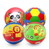 费雪球小皮球拍拍球儿童足球幼儿园专用婴儿宝宝篮球球类玩具男孩