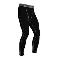 运动裤男紧身弹力健身裤速干透气收腿跑步长裤足球训练篮球打底裤
