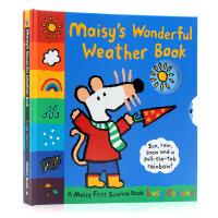 Maisy Wonderful Weather Book小鼠波波天气书 英文原版 Lucy Cousins露西・卡曾斯