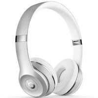 Beats Beats Solo3 Wireless无线蓝牙重低音头戴耳机 银色