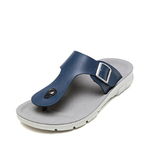 SHOEBOX/鞋柜夏季新款夹脚凉拖鞋防滑休闲沙滩鞋男凉鞋
