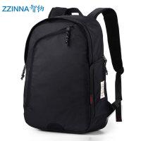 韩版双肩包男士背包休闲运动旅行包学生书包男双肩背包电脑包 黑色