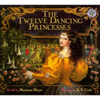 美国进口 美轮美奂唯美复古画风 Kinuko Y. Craft作品 The Twelve Dancing Prince
