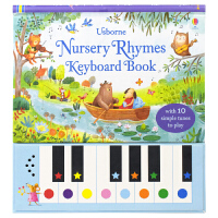 【首页抢券300-100】尤斯伯恩 Usborne Nursery Rhymes Keyboard Book 经典童谣鹅