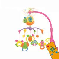 1岁新生婴儿床铃音乐旋转0-3-6个月男孩女宝宝益智玩具床头铃摇铃