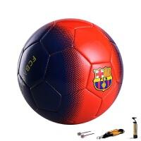 体育用品夏季欧洲杯校园足球巴撒5号足球训练比赛学生运动训练球儿童少年足球送气筒