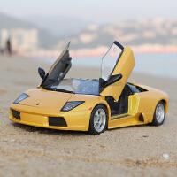 1:18兰博基尼蝙蝠合金车模仿真跑车汽车模型