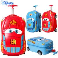 迪士尼登机箱拉杆箱卡通汽车麦昆旅行箱儿童行李箱18寸小学生拉箱
