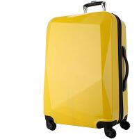 拉杆箱20旅行箱皮箱密码箱子24行李箱万向轮登机箱包28寸男女 A572柠檬黄 20寸[短途出差旅行,可登机]