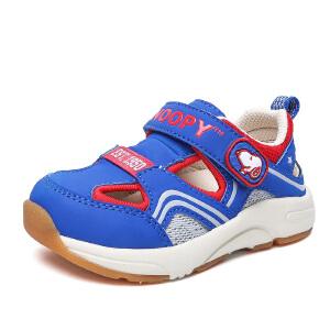 史努比童鞋新品舒适防滑机能鞋