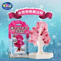 儿童diy结晶科学实验玩具冰雪奇缘魔法珊瑚圣诞树