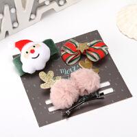圣诞节礼物小礼品儿童平安夜幼儿园鹿角头饰发饰发夹男女生