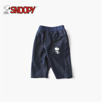 snoopy/史努比2018夏新款男女童装纯色松紧纯棉五分短裤LSN8M279