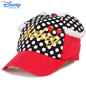 Disney/迪士尼 女孩儿童遮阳棒球学生卡通帽子鸭舌帽MC0487
