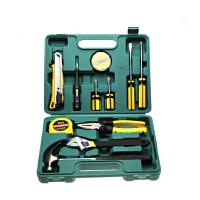 12件套车载维修工具包 汽车应急工具箱组合套装 扳手 钳子 改锥 锤子 电笔