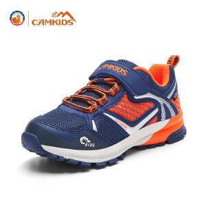 CAMKIDS儿童鞋跑鞋男大童 2017秋季新款防滑运动鞋休闲鞋