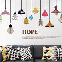 创意客厅电视背景墙壁自粘墙纸贴画餐厅书房复古装饰品卧室墙贴纸
