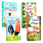 I am a Kitten/ Puppy/mouse The Rooster Struts我是一只小猫咪小狗老鼠英文原