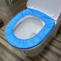 一次性马桶垫旅行粘贴坐便套坐垫纸孕产妇通用坐厕纸50片