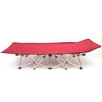 行军床钢管床折叠床办公室午休床加厚十脚床陪护床单人床躺椅