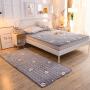【1件3折】伊迪梦家纺 床上用品法兰绒床褥床垫地垫地毯 时尚单人双人床垫子垫被榻榻米床褥子防滑DA03