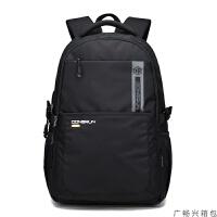 背包男士旅行双肩包大容量旅游15寸电脑背包女学生书包男时尚潮流运动