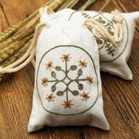 刺绣手工布艺DIY刺绣材料包手机袋香囊袋束口袋香包零钱包