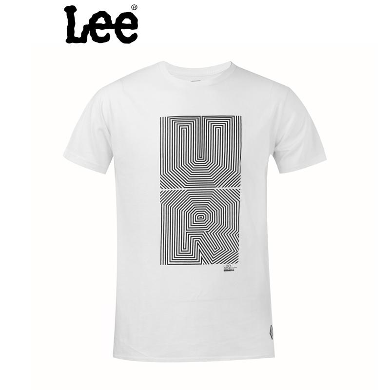 Lee 【断码】男士短袖T恤 时尚设计风格 宽松版型 舒适透气 L15131866K14