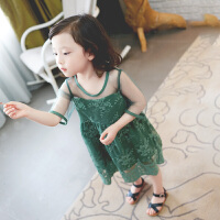 女童裙子夏季小女孩网纱裙衣服宝宝连衣裙洋气公主裙
