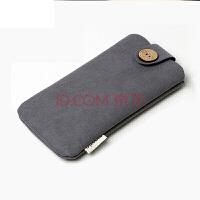 收纳包配件手机魅族小米充电宝保护套收纳袋移动电源绒布袋 灰色