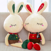 小白兔流氓兔女生布娃娃可爱情侣一对睡觉小兔子抱枕公仔毛绒玩具