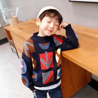 男童毛衣套头秋冬儿童针织衫