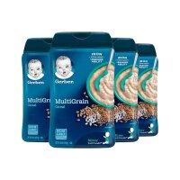 【网易考拉】4件装 Gerber嘉宝 混合谷物米粉2段6个月以上227g