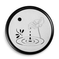 唐丰陶瓷干泡茶盘家用粗陶干泡台 创意储水茶台茶具托盘
