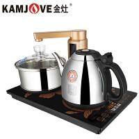 KAMJOVE/金灶 V6智能自动上水电热水壶泡茶电茶壶电茶炉自动上水壶304不锈钢电水壶烧水壶家用