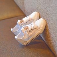 女童帆布鞋2018新款潮儿童鞋透气布鞋韩版宝宝板鞋男童小白鞋