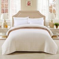 迎馨新疆棉被长绒棉絮纯棉花床垫被芯单人冬被加厚保暖褥子 白色 150x200cm 4斤