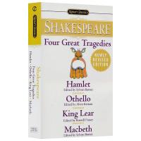 Shakespeare 莎士比亚四大悲剧 英文原版小说 Four Great Tragedies 哈姆雷特Hamlet