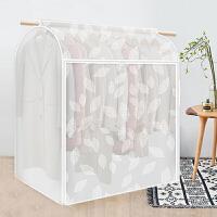 衣服防尘罩 防尘罩塑料透明衣服罩2019新款家用衣物挂式大衣收纳整理牛津布防尘袋
