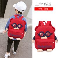 宝宝书包1-3-5岁幼儿园男童可爱韩版大班儿童旅游男双肩包潮背包
