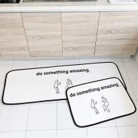 新品时尚卡通进门地垫入户卧室地毯门垫浴室吸水防滑脚垫厨房地垫