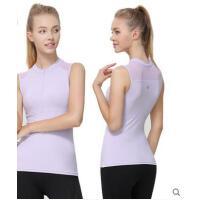 瑜伽服上衣女带胸垫裸感薄款防走光运动健身瑜伽背心