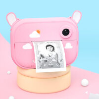 凯蒂卡乐儿童可打印照相机玩具可拍照数码宝宝拍立得生日新年礼物