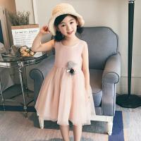 童装女童公主裙洋气儿童连衣裙夏装新款宝宝裙子韩版中大童裙