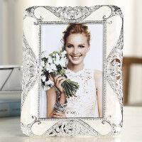 轻奢欧式相框摆台7寸8寸10寸创意小奢华婚纱照卧室照片框桌面摆件