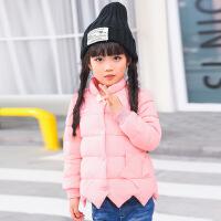 冬季新款男女童羽绒内胆短款儿童韩版冬装潮外套中大童装